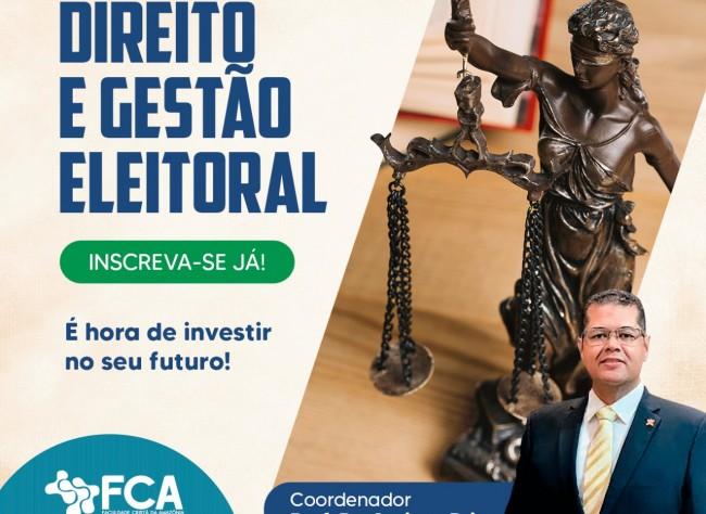 MBA EM DIREITO E GESTÃO ELEITORAL