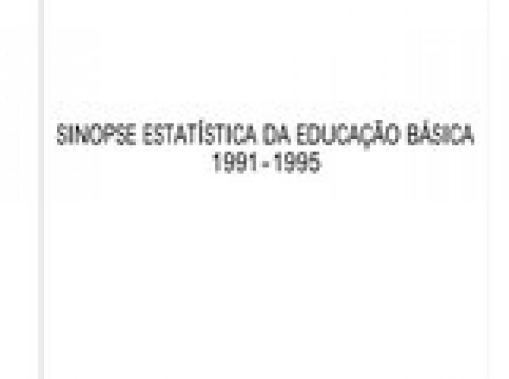 SINOPSE ESTATÍSTICA DA EDUCAÇÃO BÁSICA